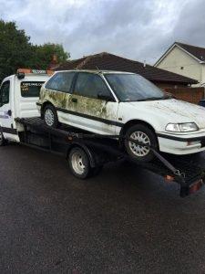 scrap car removal in stondon massey